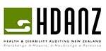 HDANZ Logo - HDANZ registered certification to NZS 8165:2005 Rooms/Office-based